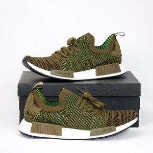 NEW Men's Adidas NMD_R1 Prime Knit Green